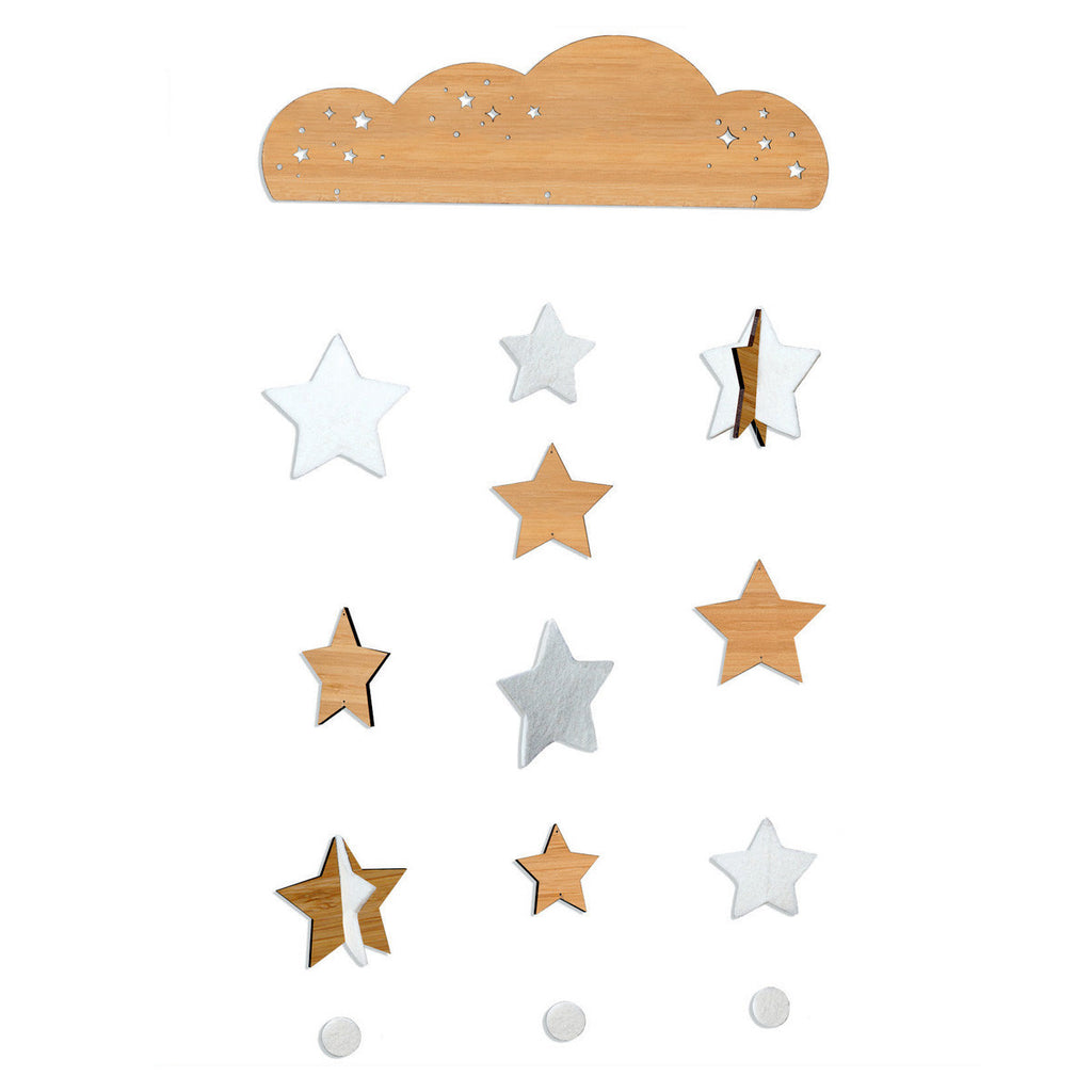 Petite Collage Starry Sky Bamboo Mobile