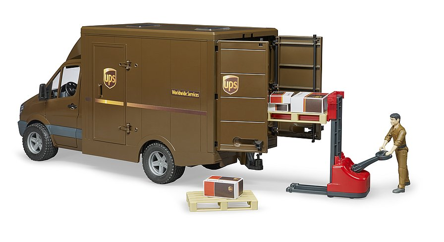 UPS MB Sprinter w/driver and accessories