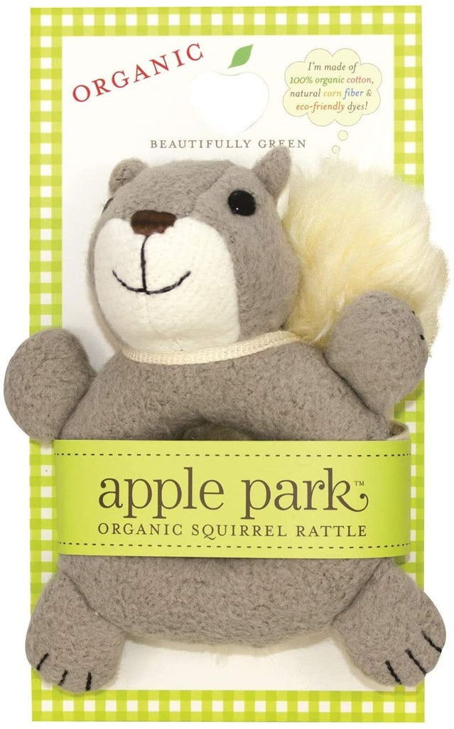 Little Squirrel Soft Teething Toy