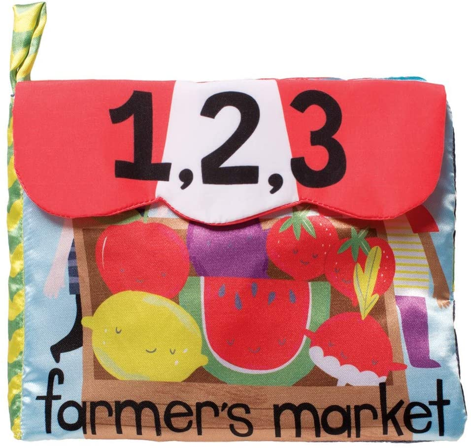 Farmer's Market Soft Activity Book Baby Toy