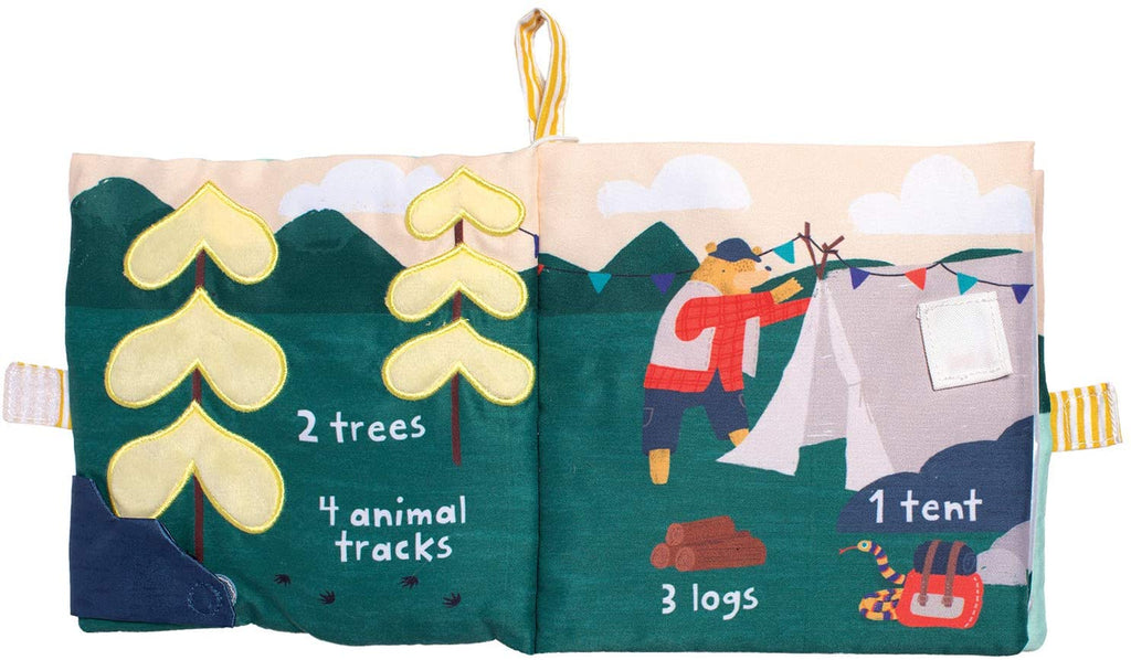 Lemon The Bear Goes Camping Toddler Soft Activity Book