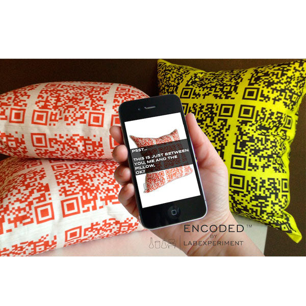Encoded Pillow