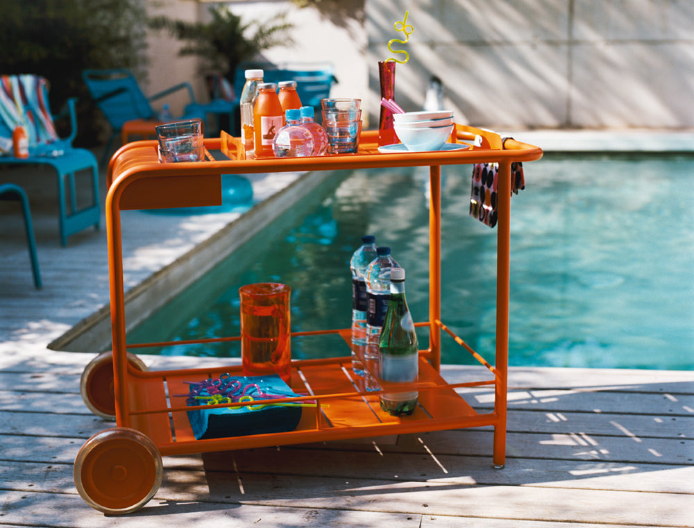 Wheeled Bar Cart