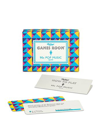 Ridley's Games Room 90S Pop Music Quiz Card Game