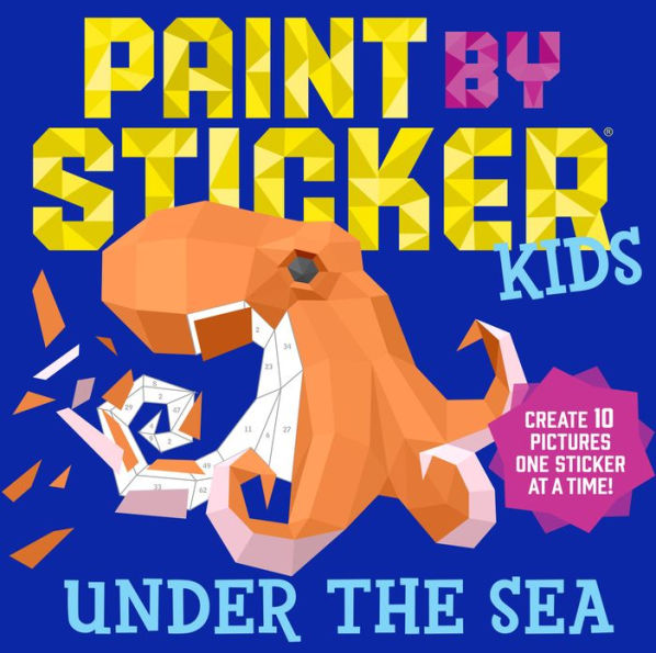 Paint by Stickers Under The Sea