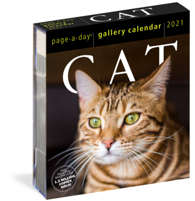 365 Cats Page-A-Day gallery Calendar 2021