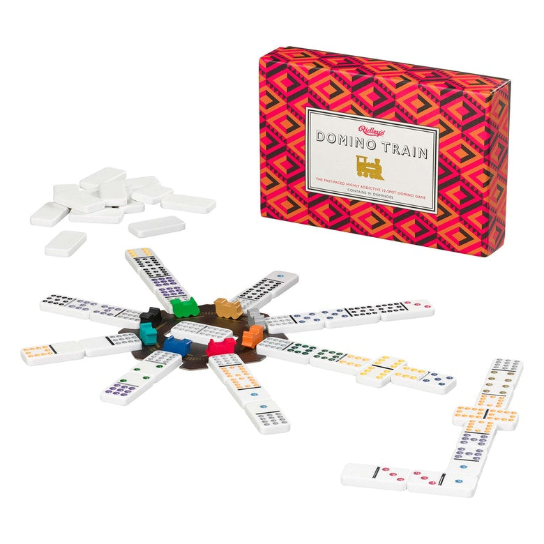 Ridley's Games Domino Train Game