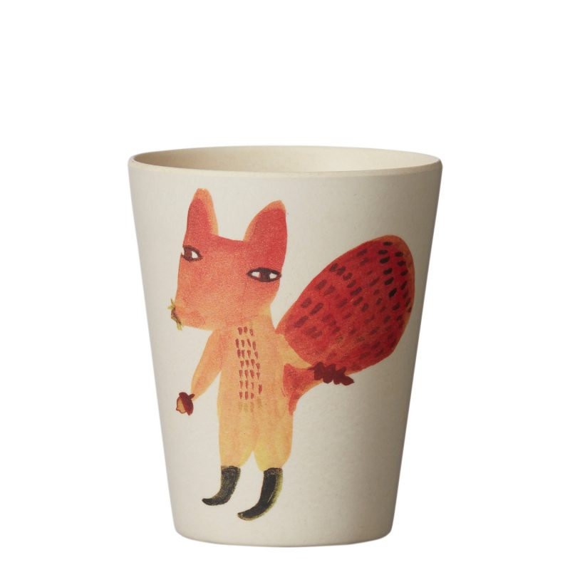Squirrel Bamboo Cup