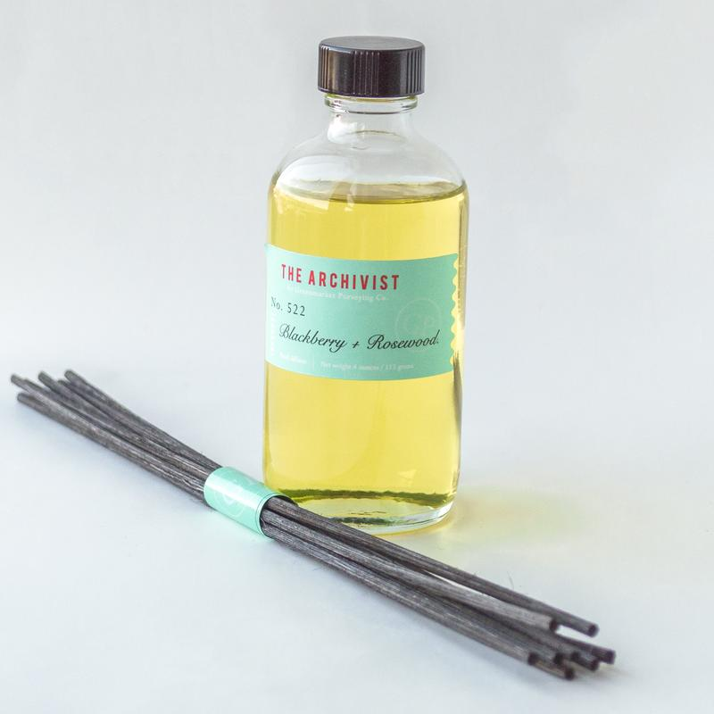Blackberry + Rosewood Archivist Reed Diffuser