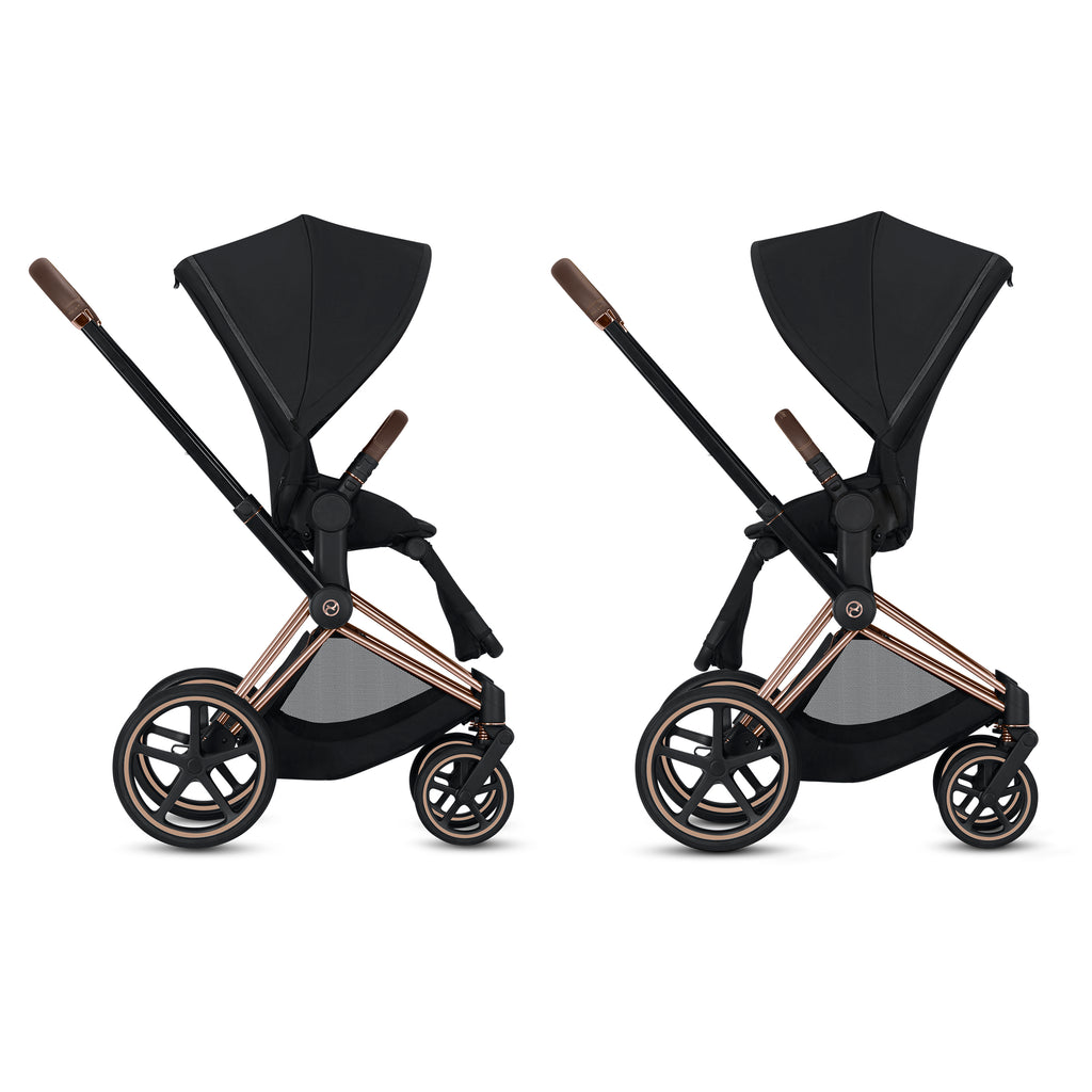 Cybex Platinum ePriam Chrome/Black Frame
