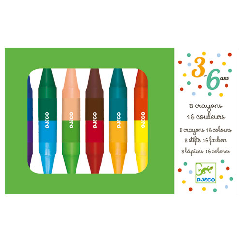 Double Sided Twin Crayons