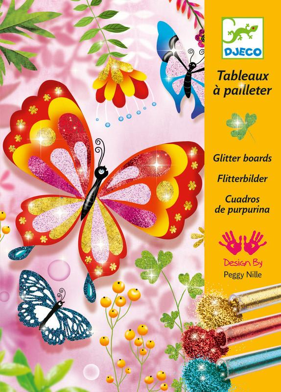 Glitter Boards Butterflies