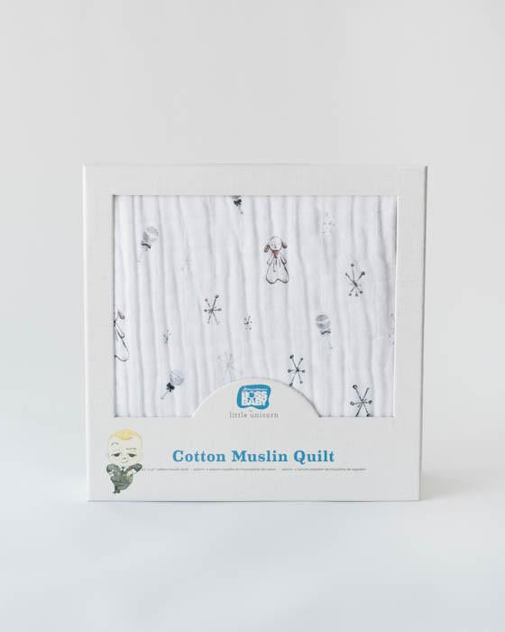 Lamby Cotton Muslin Quilt