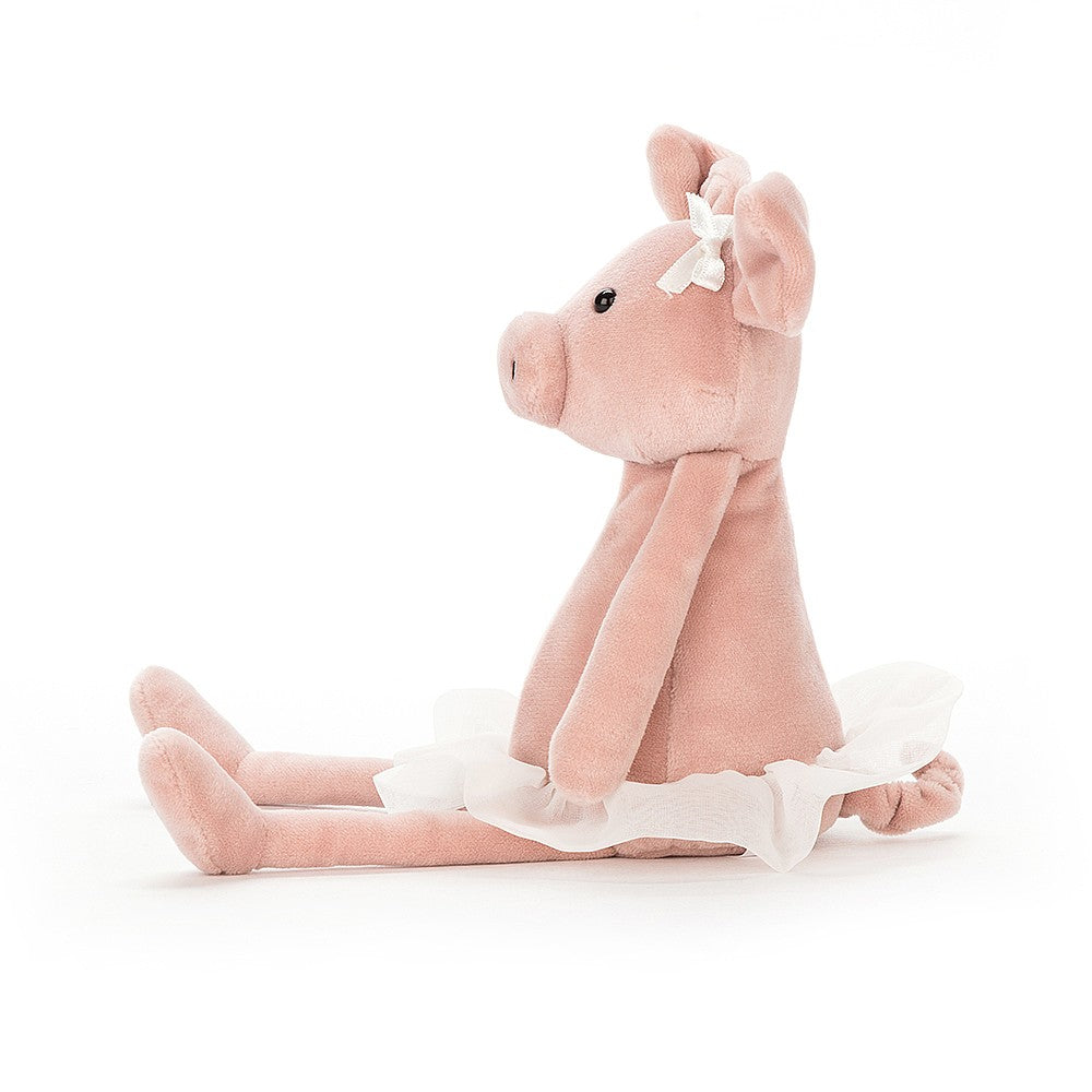 Dancing Darcey Piglet Small Side View