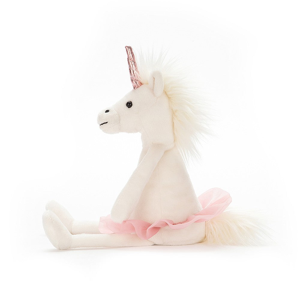 Dancing Darcey Unicorn Small Side View