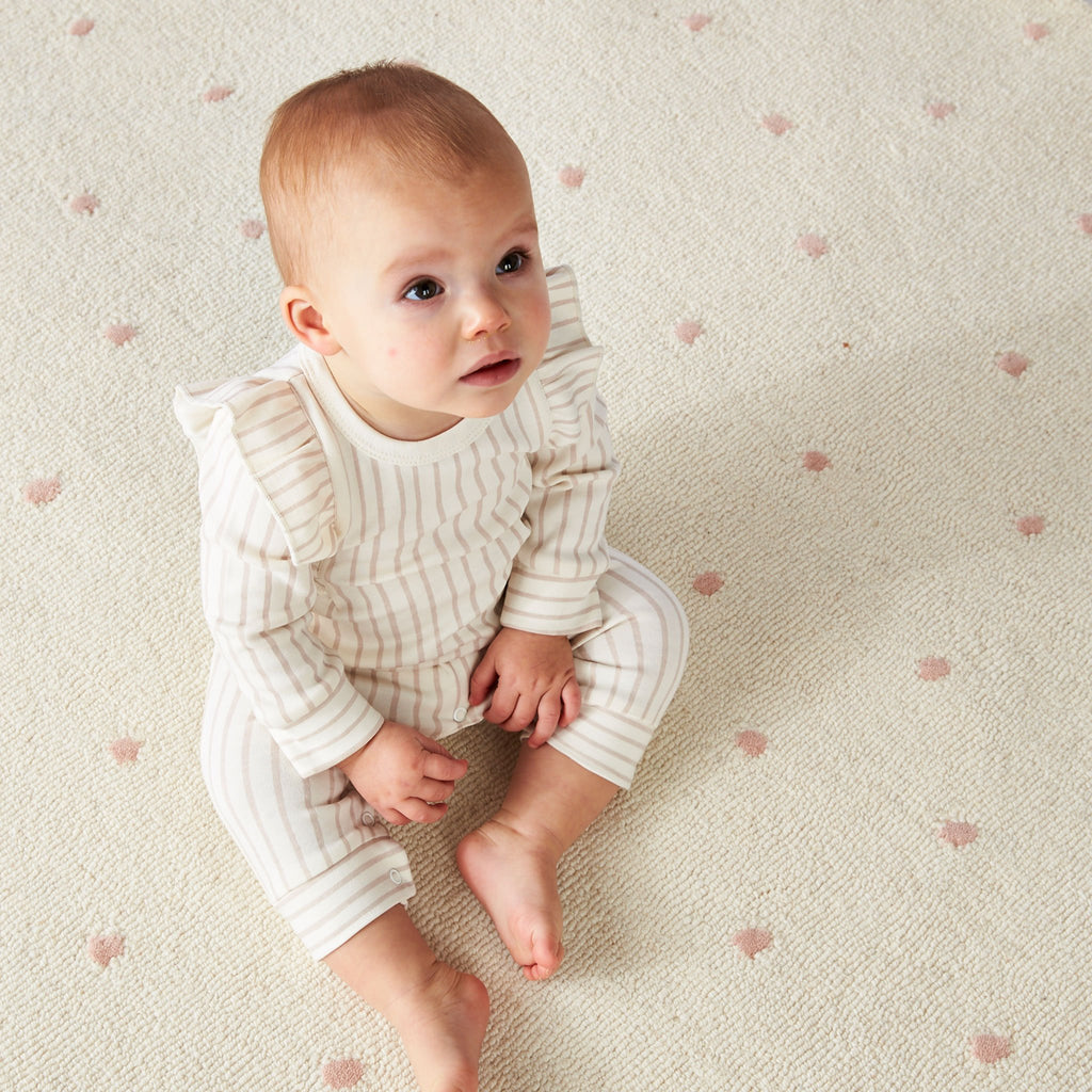 Blush Dotty Rug
