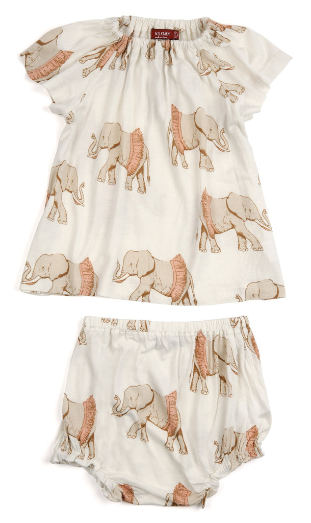 Elephant Tutu Dress Set