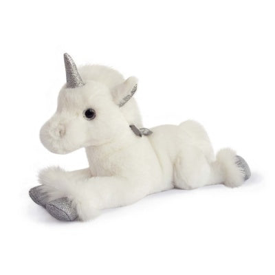 Plush Unicorn Silver