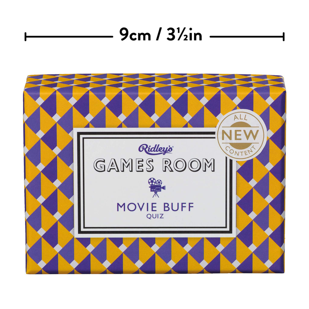 Ridleys Games Room Movie Buff Trivia Quiz Game