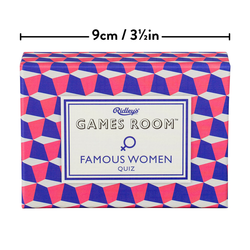 Ridley's Games Famous Women Quiz Game