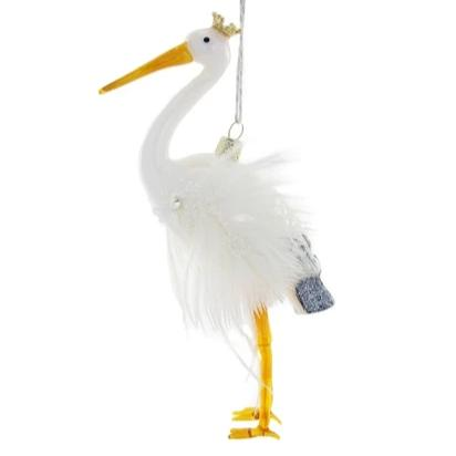 Crowned Stork Ornament