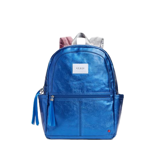 Kane Backpack Metallic Blue