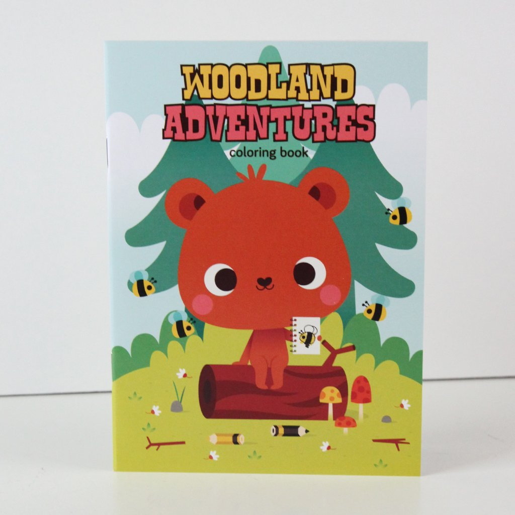 Woodland Adventures Coloring Book