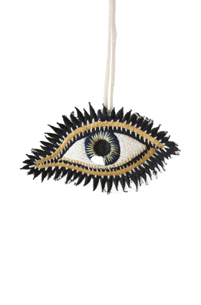BEADED EYE ornaments