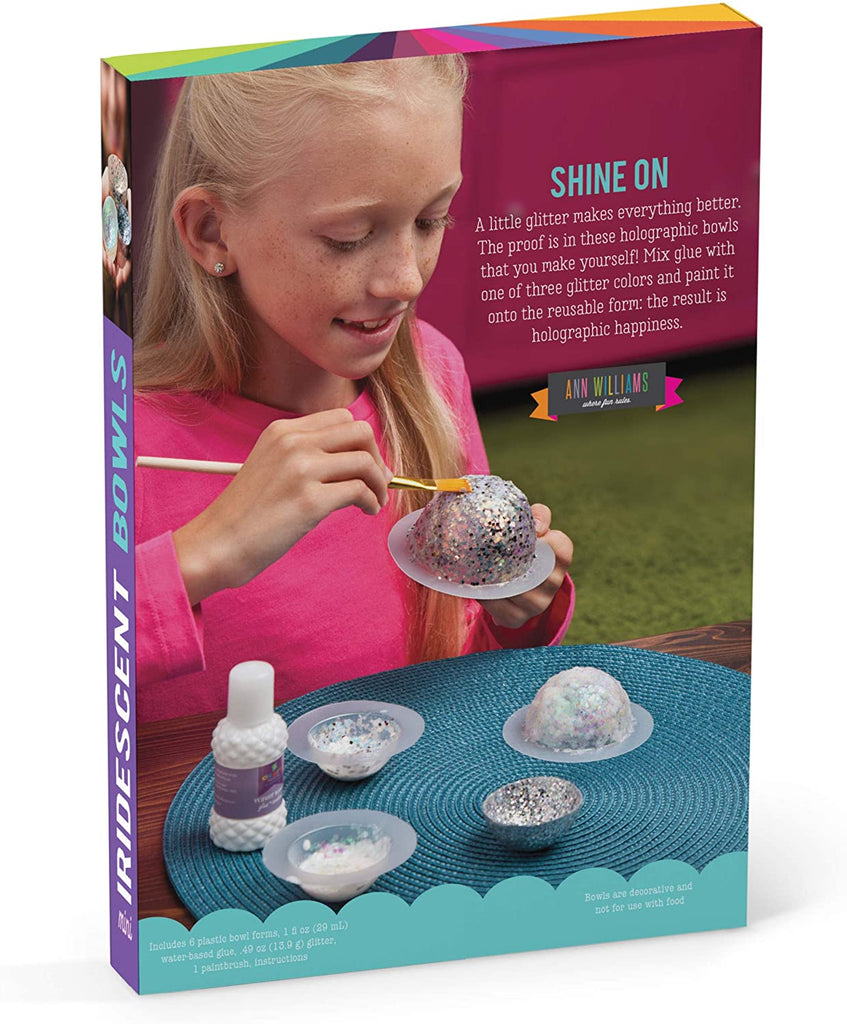 Mini iridescent bowls kit