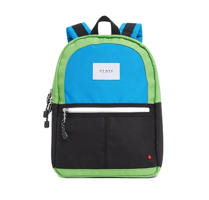 Mini Kane Backpack Black Green
