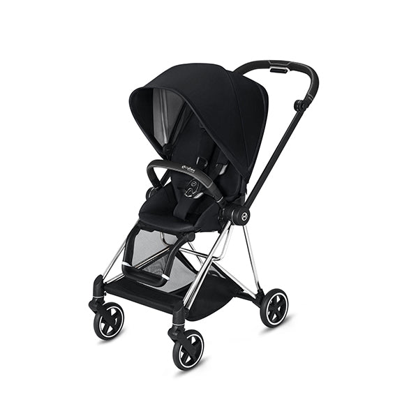 Cybex Platinum Mios 2 Chrome/Black Frame + Seat