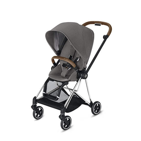 Cybex Platinum Mios 2 Chrome/Brown + Seat
