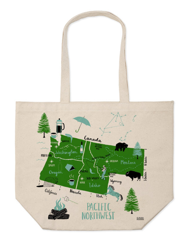 Pacific NW Tote