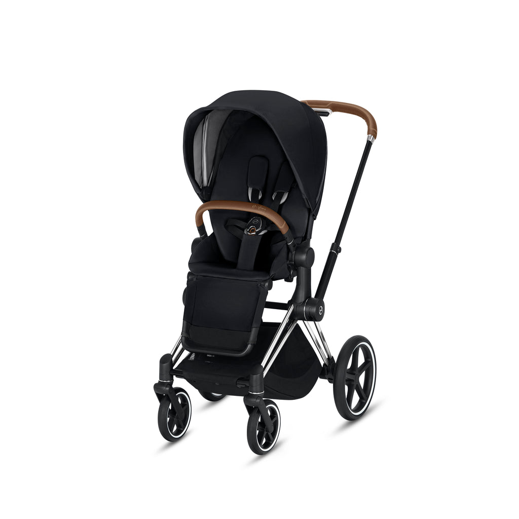 Cybex Platinum Priam 3 Chrome/Brown Frame + Seat