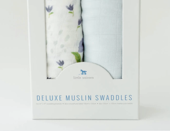 Wildflower Swaddle Set (2)