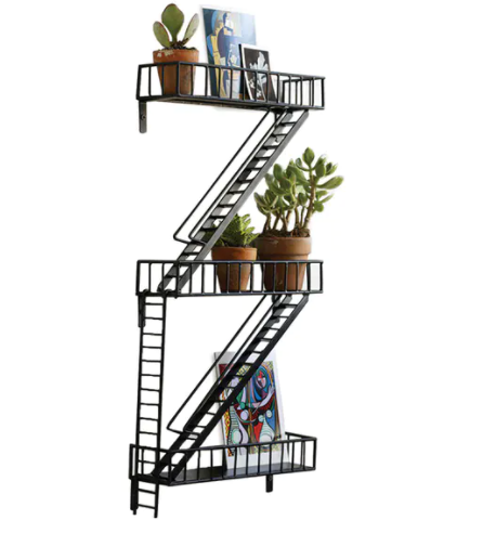 Fire Escape Shelf Pre-Order