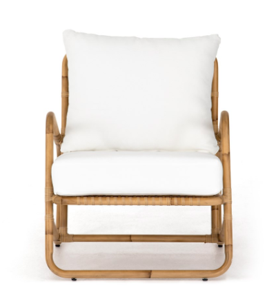 Riley Faux Rattan Chair