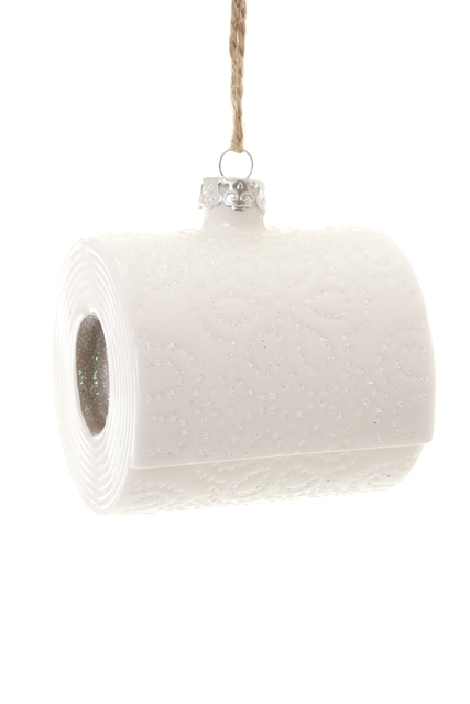 Toilet Paper Ornament