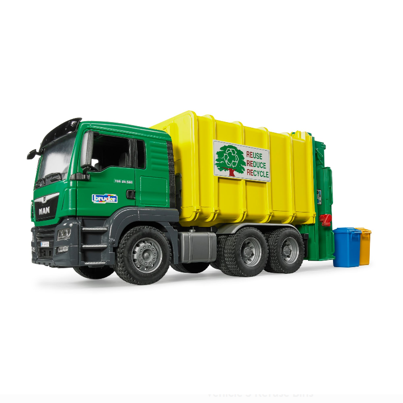Rear-Loading Garbage Truck