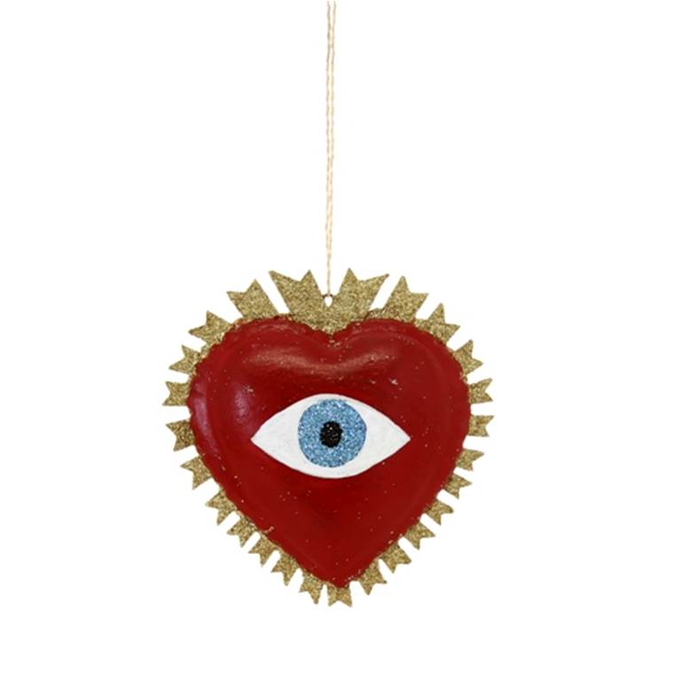 Magical Eye Heart Ornament