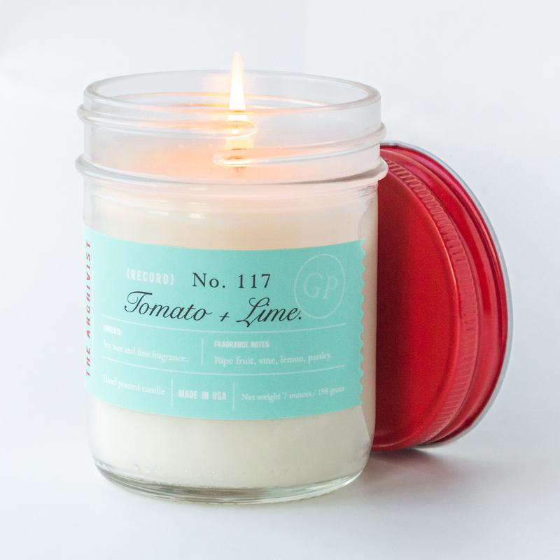 Tomato + Lime 7 oz. Archivist Candle