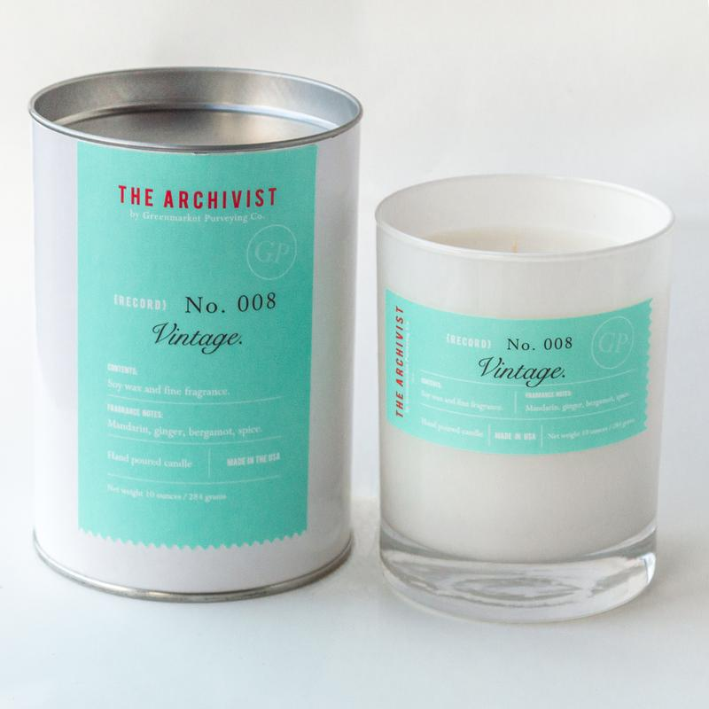Vintage 10 oz. Archivist Candle