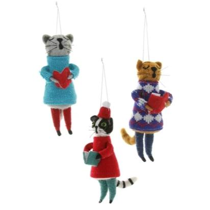 Choir Cats Ornament