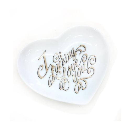 Love Ceramic Dish