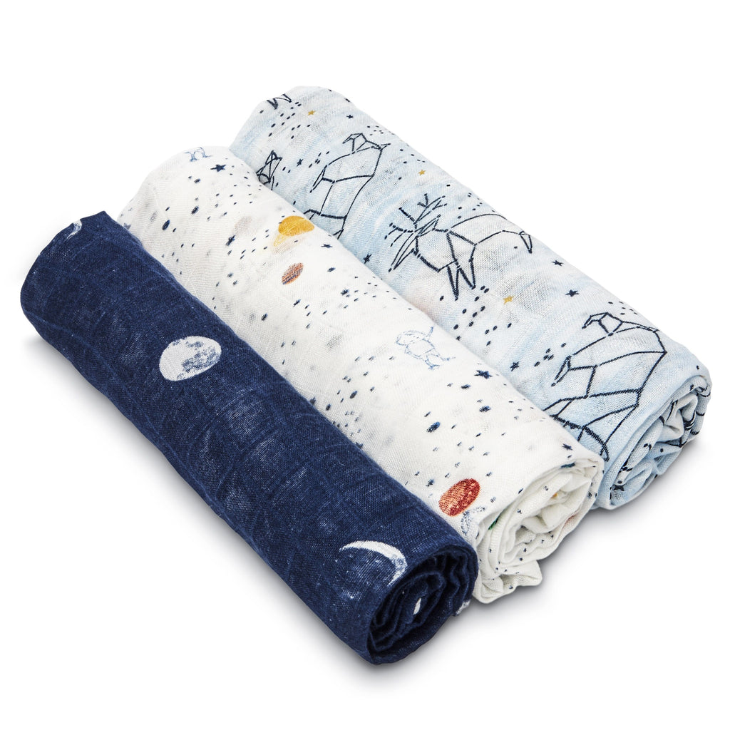 silky soft swaddle set 3-pack Stargaze