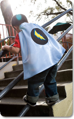 Blue Bolt Cape