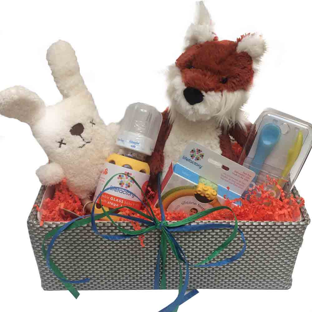 Fox Cub Goft Basket