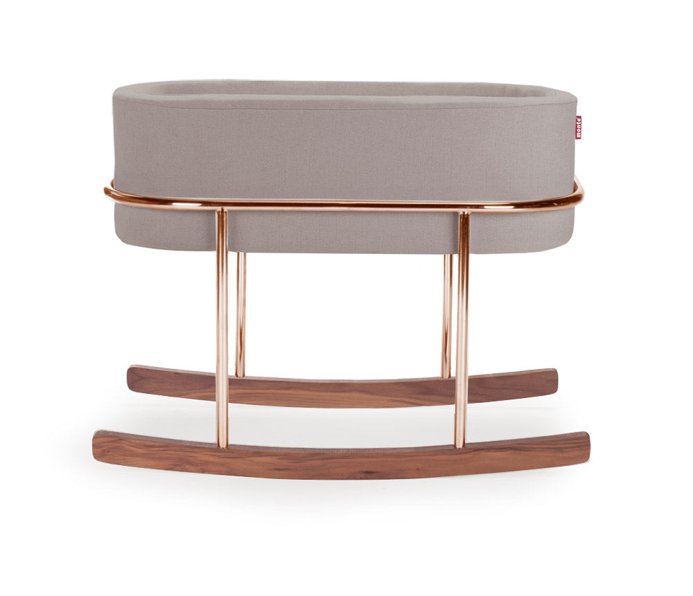 Rockwell Smoke & Copper Bassinet