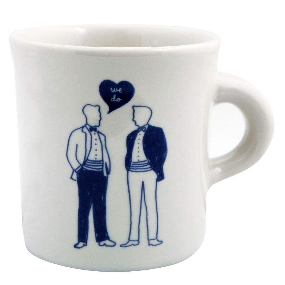 We Do Men Mug