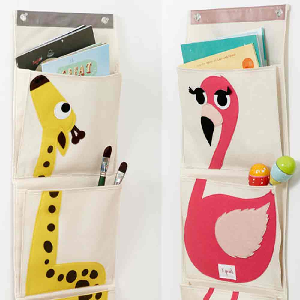 Cotton Canvas Wall Organizer